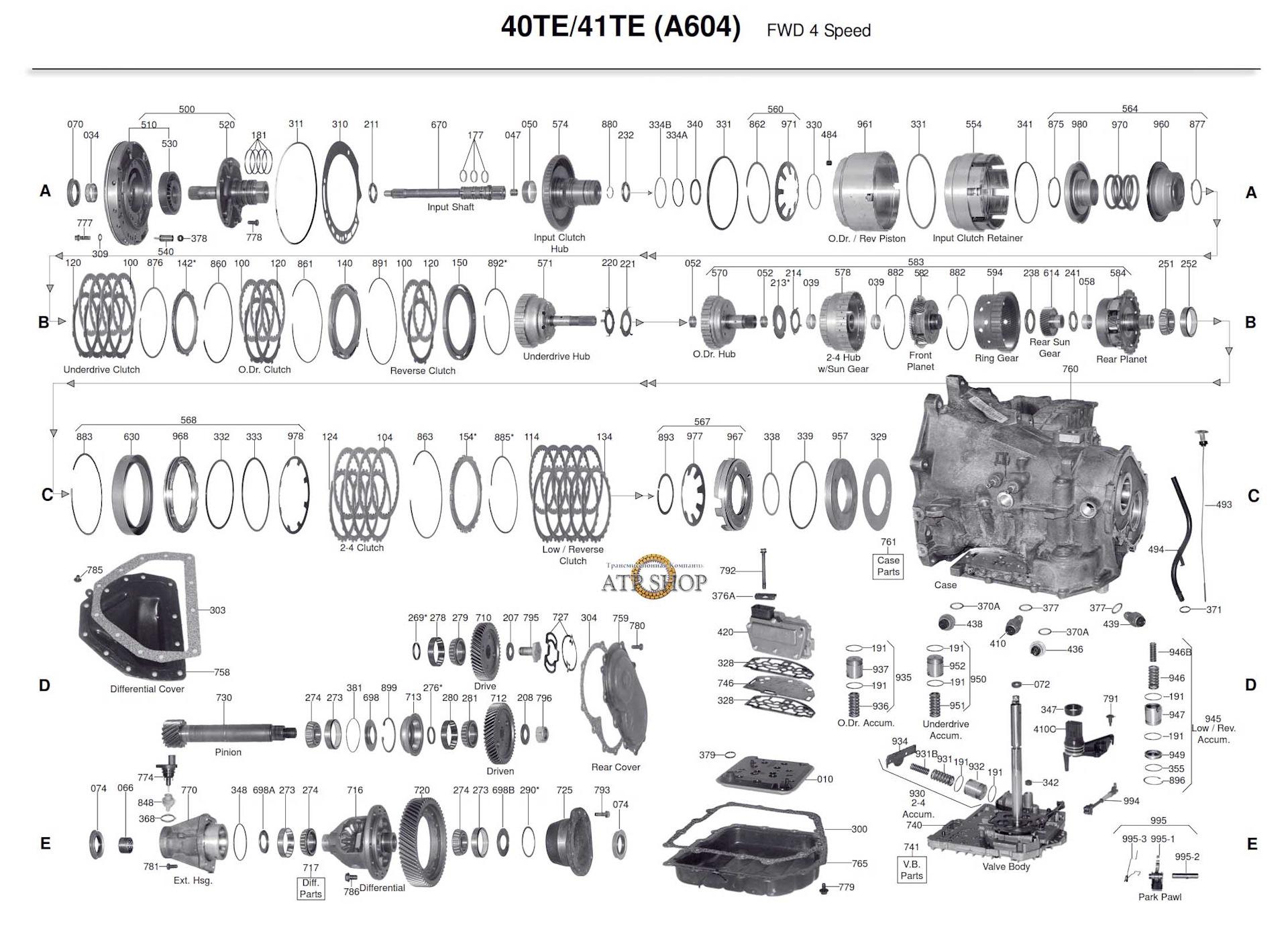 a604 41te transmission diagram custom wiring diagram u2022 rh littlewaves co