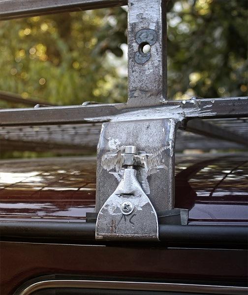 Крепление на крышу автомобиля своими руками