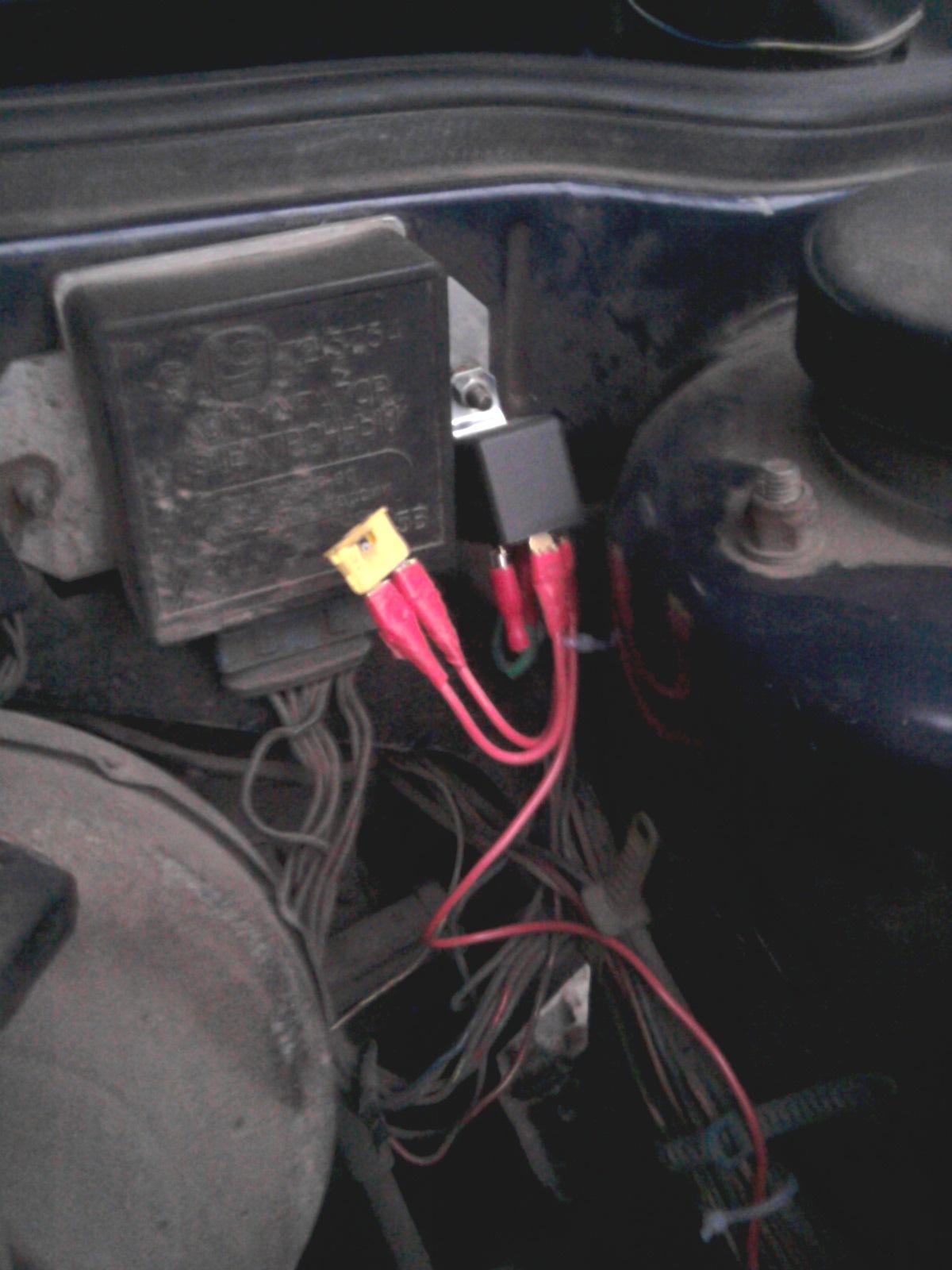 схема проводки вентилятора охлаждения ваз2109