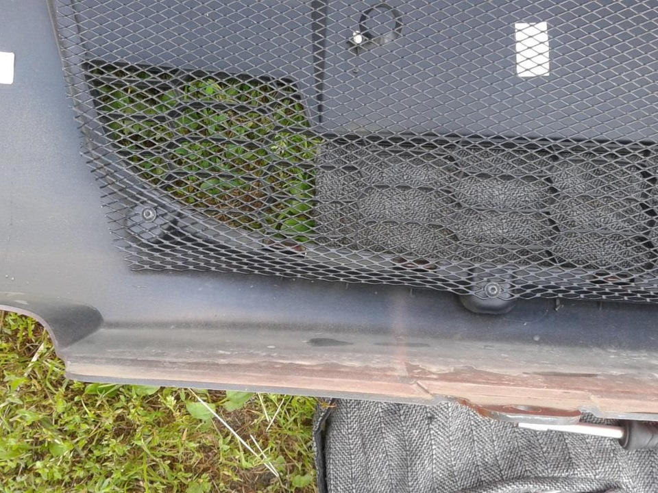 Сетка на радиатор калина кросс своими руками