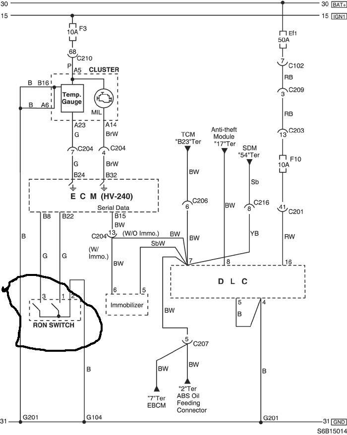 Схема фишки RON 95 под 95
