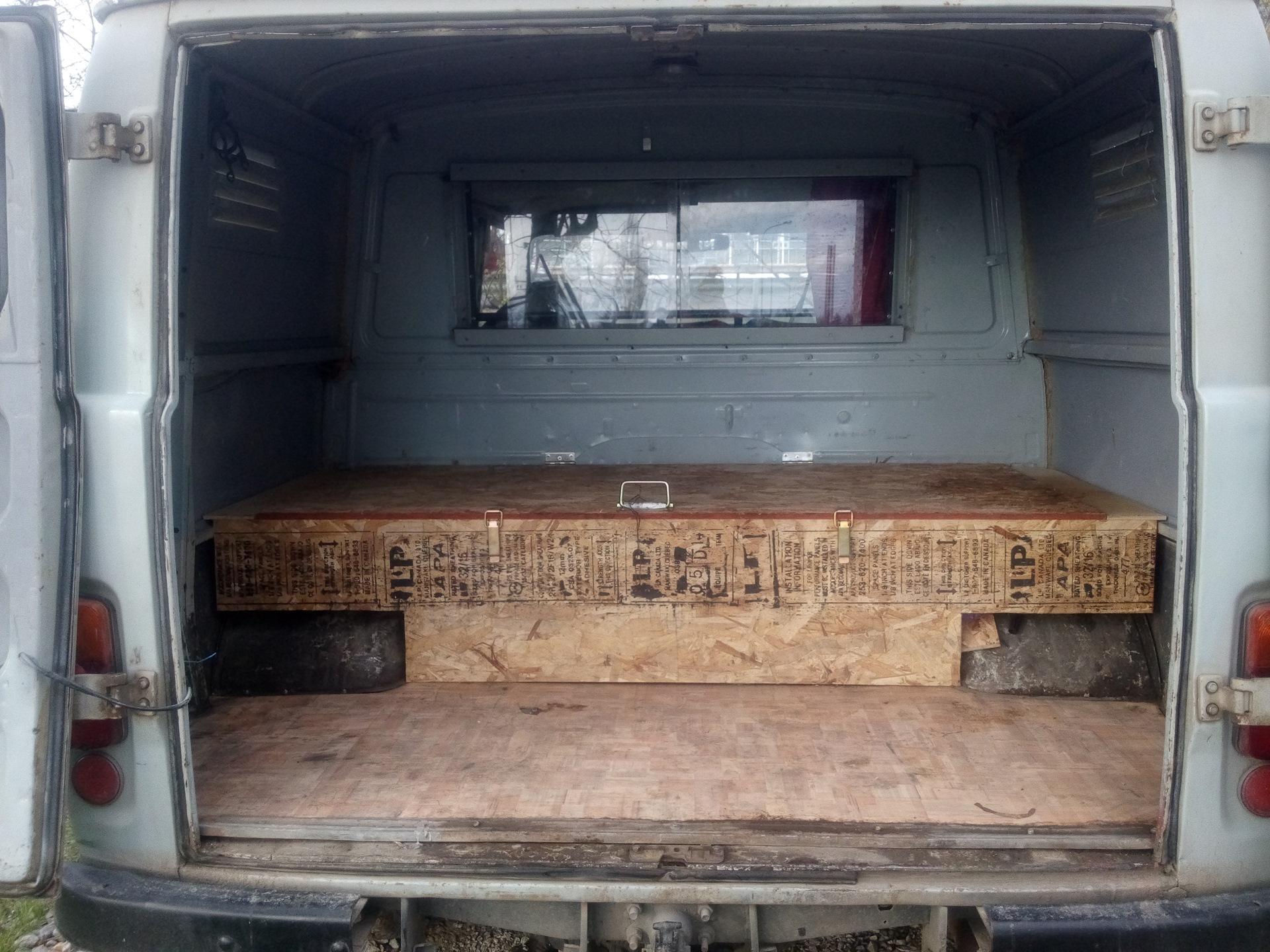 Как сделать багажник на буханку фото 712