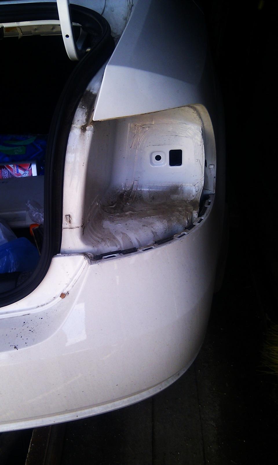 Установка парктроника на VW Polo Sedan бортжурнал. - drive2 35