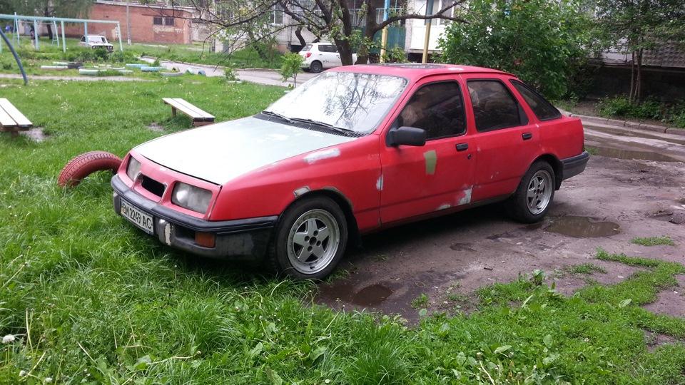 ford sierra полуось 1986