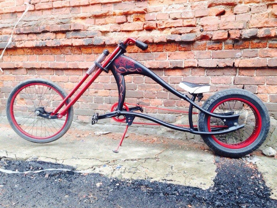 Самодельные велосипеды фото