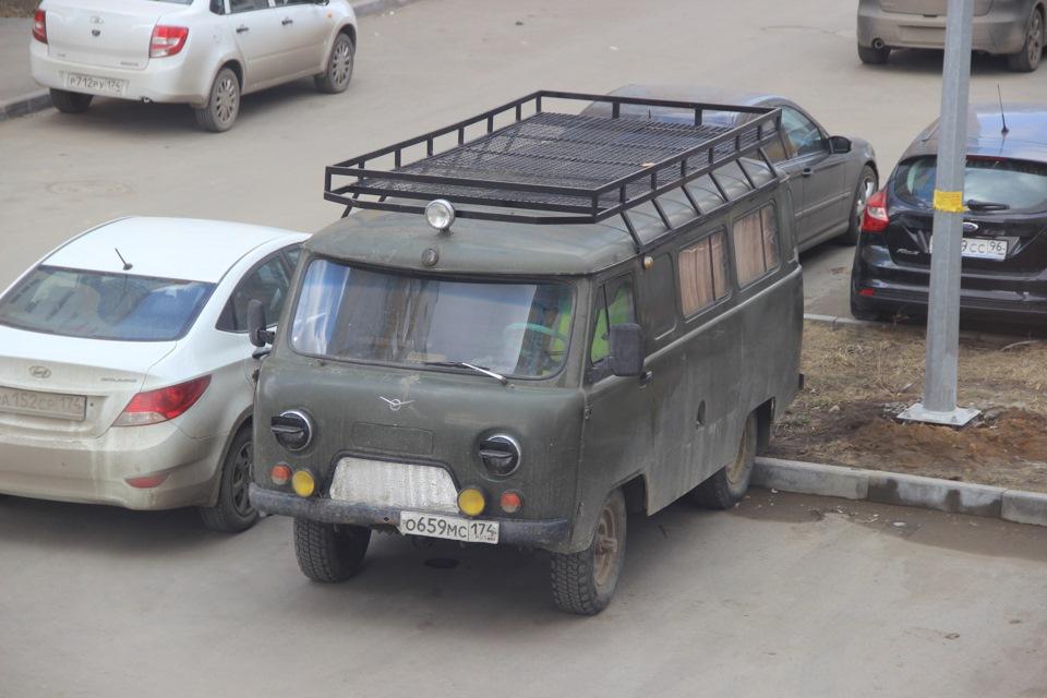 Багажники на крышу автомобиля уаз буханка своими руками