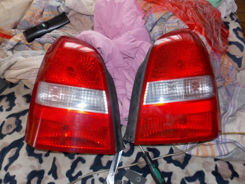 Ремонт задних фонарей автомобиля 171