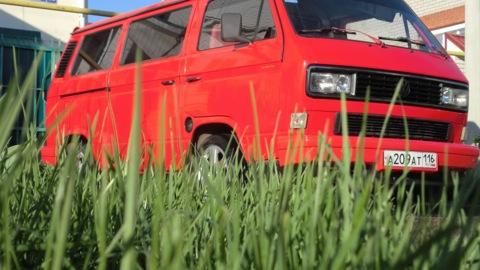 Volkswagen krasnyuschy Transportador hunky)