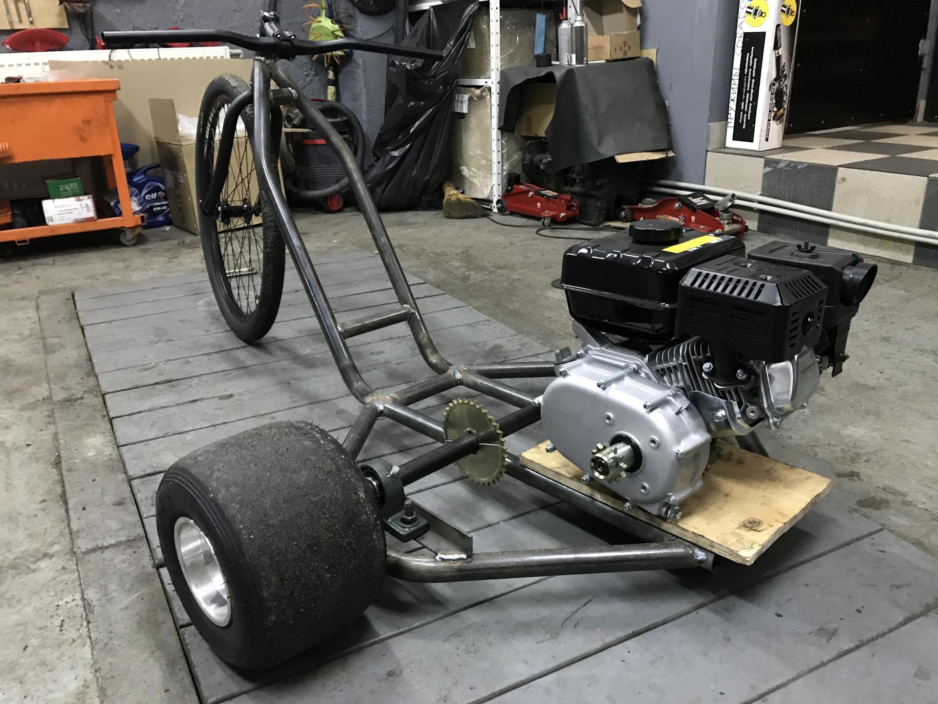 Drift trike с мотором своими руками 993