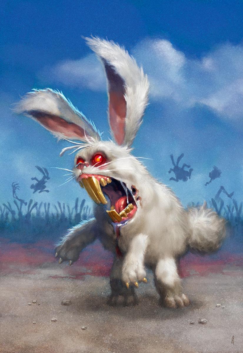 Гигантский заяц картинки смешные