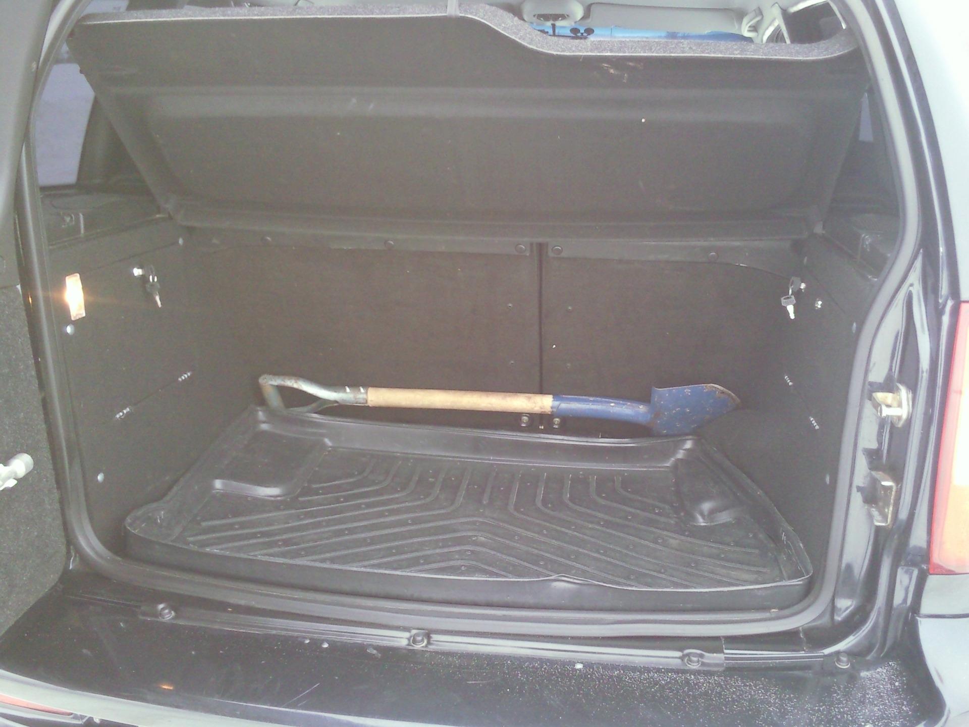 Тюнинг багажника нива шевроле своими руками