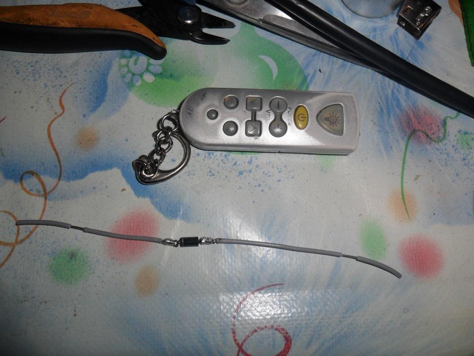 конденсатор и диод,