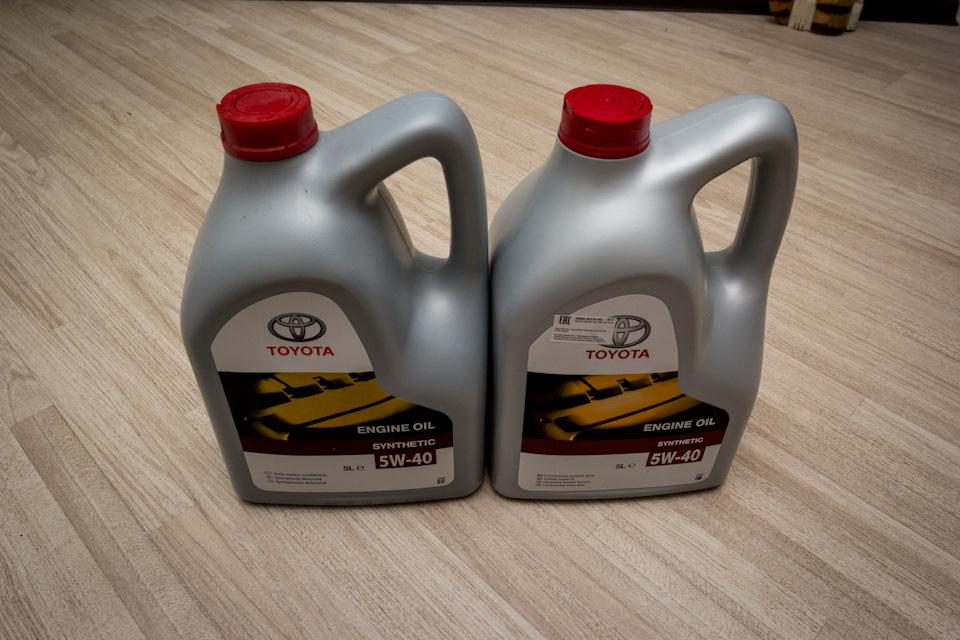 масло Toyota Прадо 120