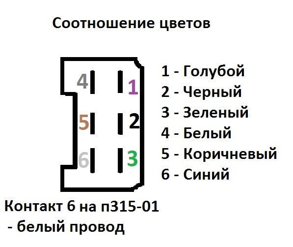В схеме ошибка, 6 контакт