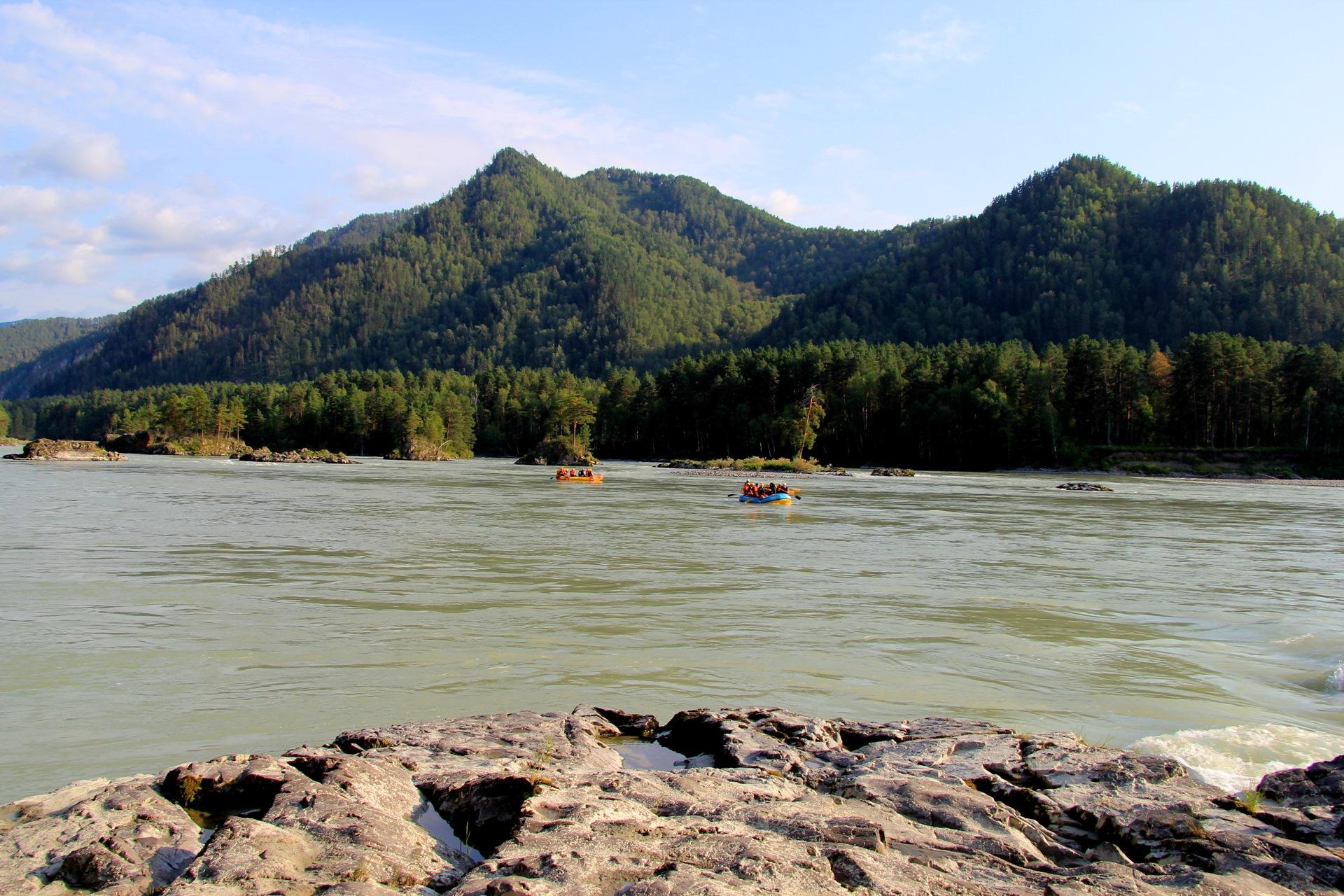 Фото реки сема в горном алтае