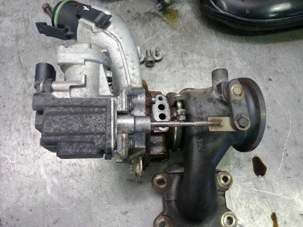 Турбина на двигатель 1.2 октавия стоимость