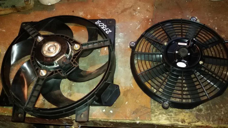 мотор вентилятора охлаждения опель фронтера