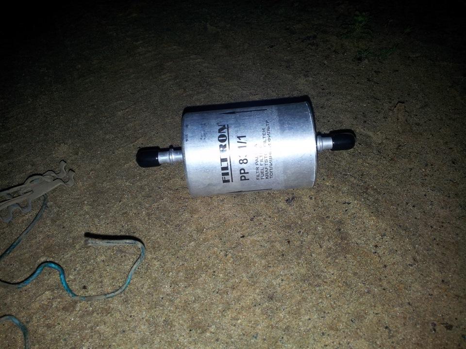 renault logan 1.4 mpi топливный фильтр