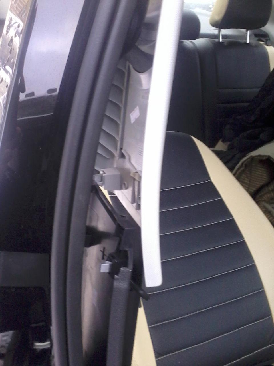 установка сабвуфера в volkswagen polo sedan