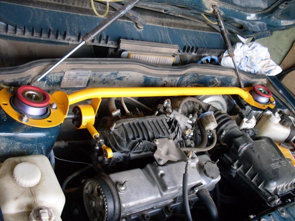 Как поставить двигатель на ваз 21099