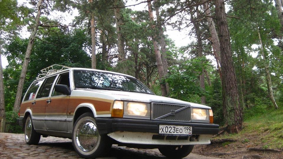 Volvo 740 woody сарай b230k