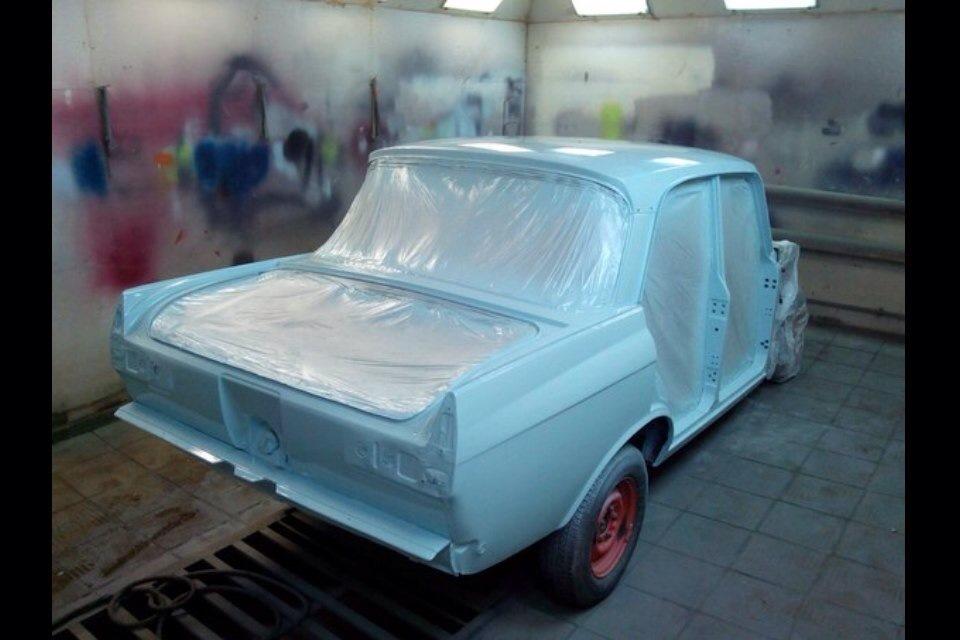 Покраска алкидной эмалью авто