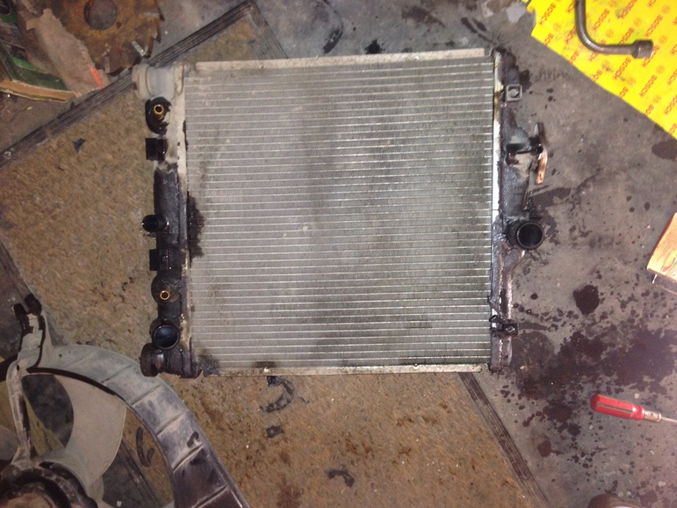 Ремонт крышки радиатора охлаждения своими руками 42