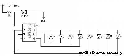 схемы на pic12f629 - Практическая схемотехника.