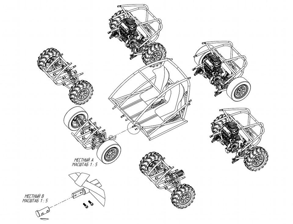электрическая схема электромобиль kreiss джип #2