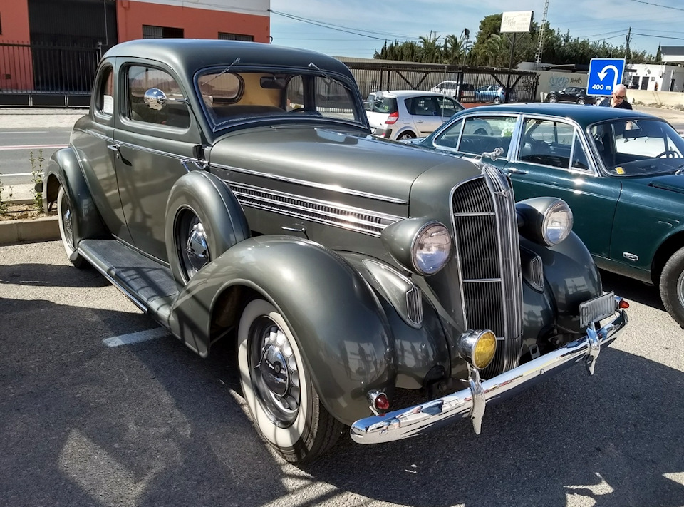 Dodge Business Coupe 1936, великолепный
