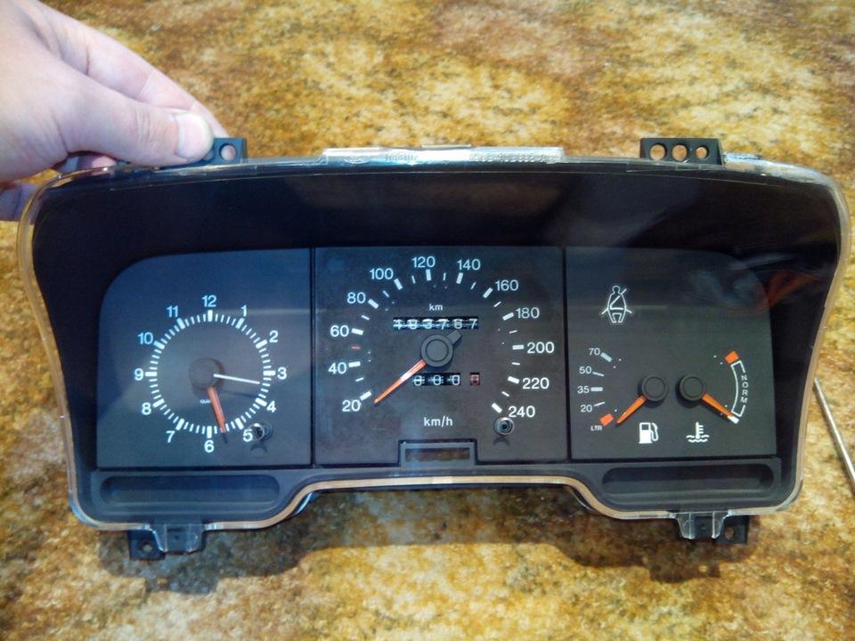 ford scorpio 1990 заменить спидометр