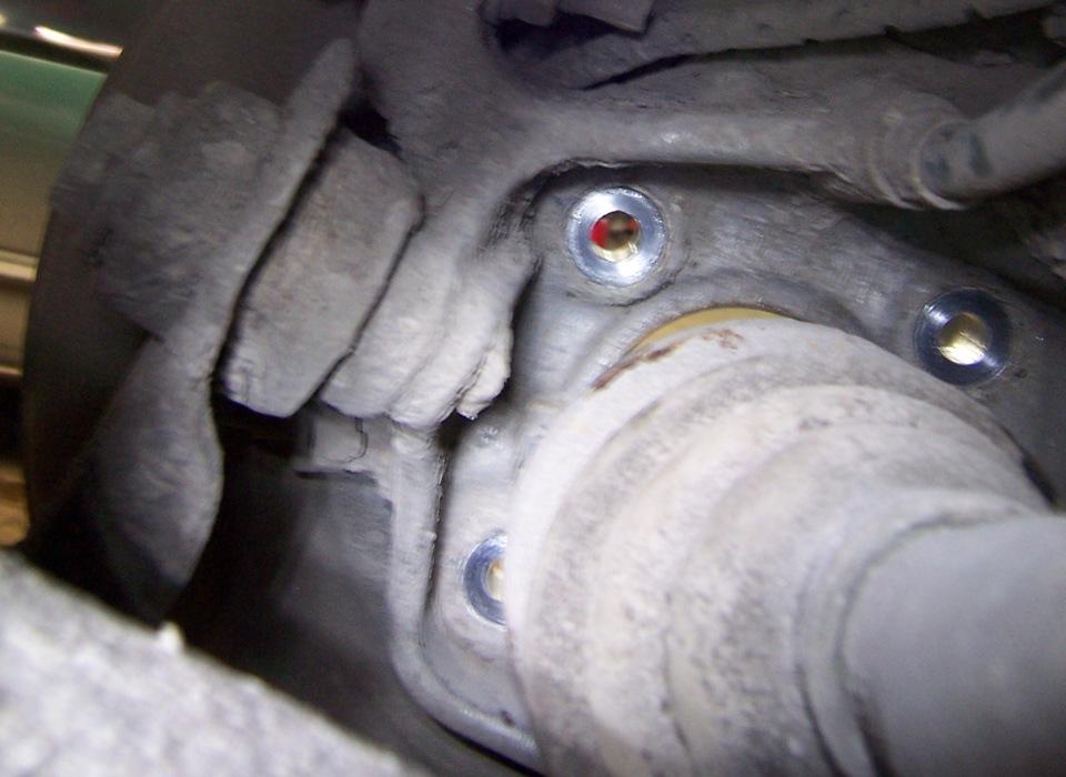 замена заднего ступичного подшипника BMW e36