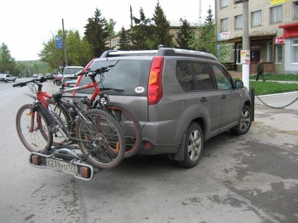 Крепление велосипеда к автомобилю своими руками