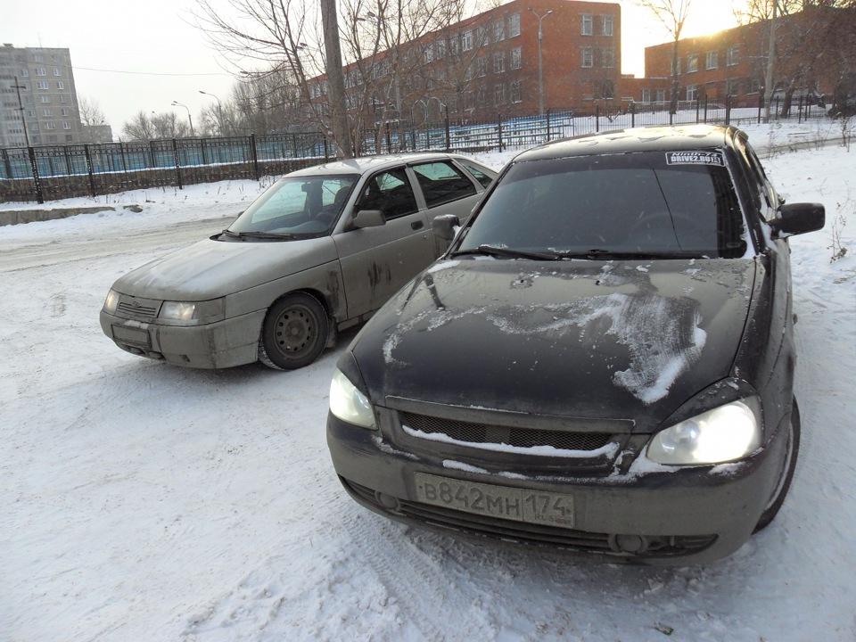 Помой машину и влюбись в нее снова!)) Зимняя мойка!...