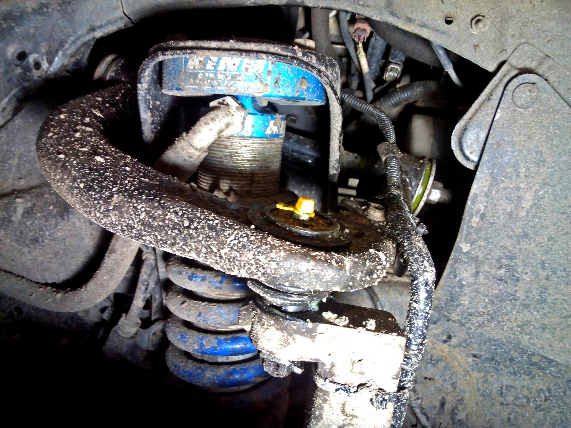 Замена верхнего рычага тойота прадо 150 Ремонт моторчиков охлаждения крета