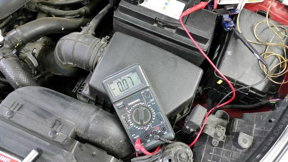 Сигналка посадила аккумулятор что делать 105