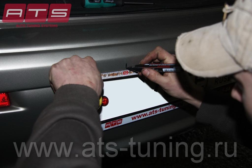 инструкция по установке парктроника на опель