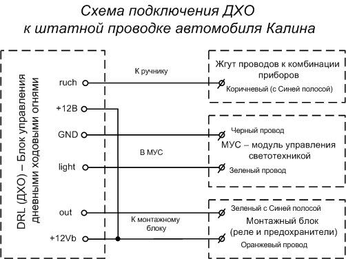 Схема Подключения Стеклоподъемников Лада Калина