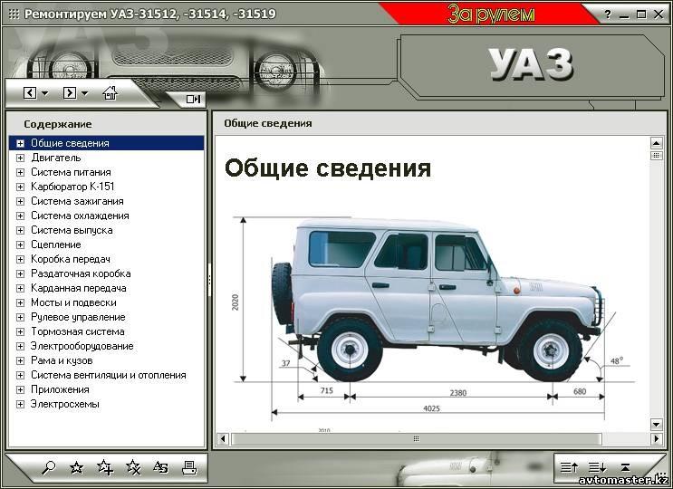 уаз 469 инструкция по ремонту и эксплуатации - фото 6