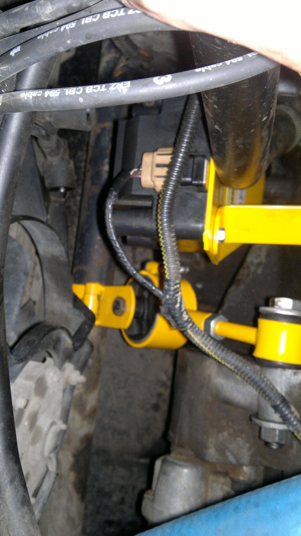 Дополнительная опора двигателя ваз 2110 8 клапанов 75