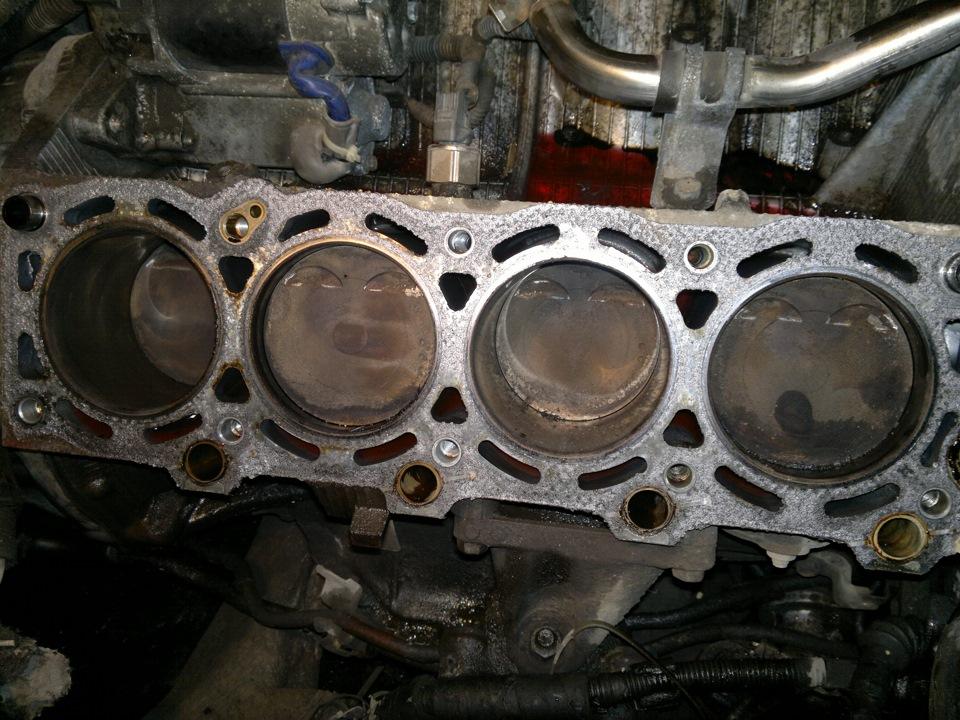 Какие двигатели гнут клапана при обрыве ремня ГРМ