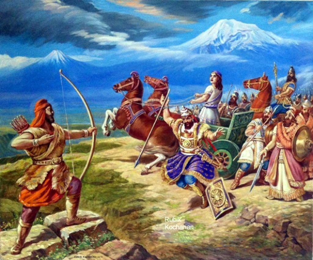 народа армянская мифология в картинках относительно неплохо сохранился