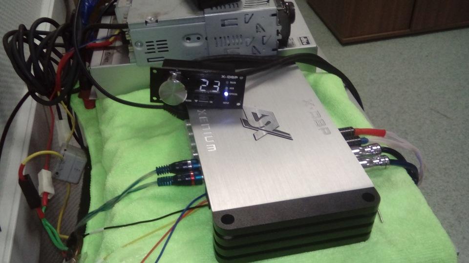 Прослушка/сравнение процессоров ESX X-DSP/Alpine PXA-H700