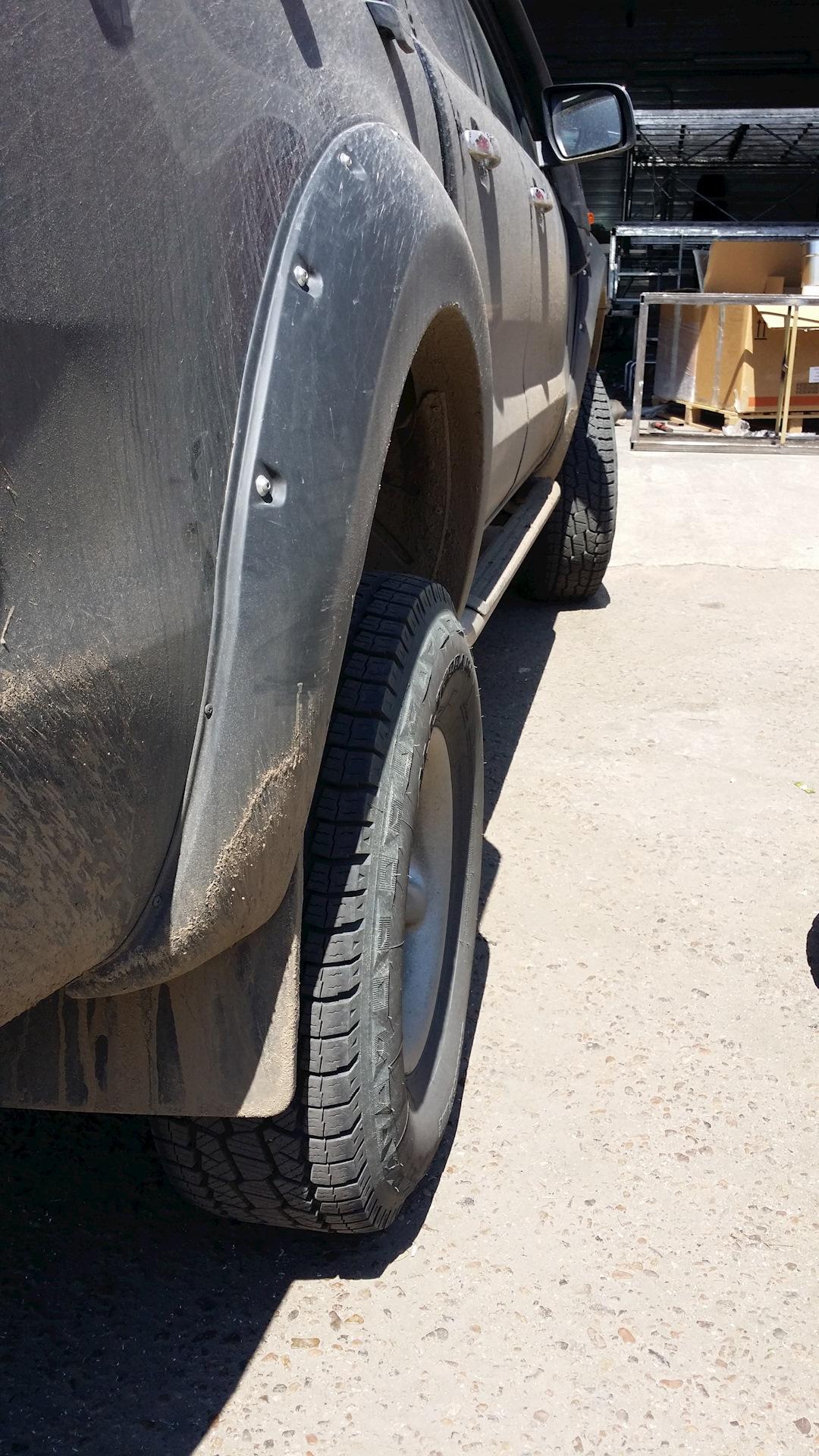 диски с вылетом -13 на ford ranger