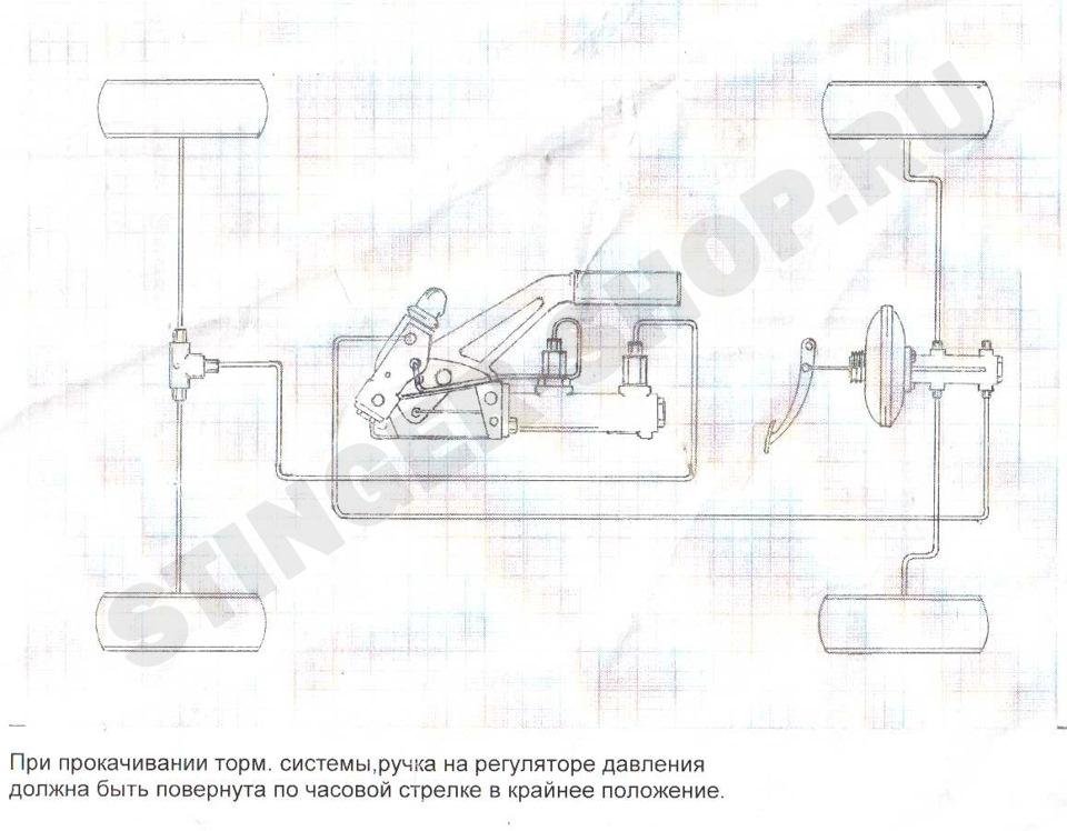 Как сделать гидроручник на ваз 2109 своими руками