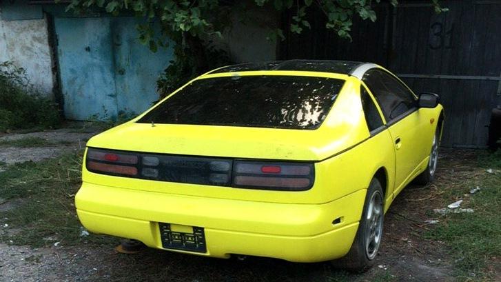 nissan 300zx 1995 года двигатель
