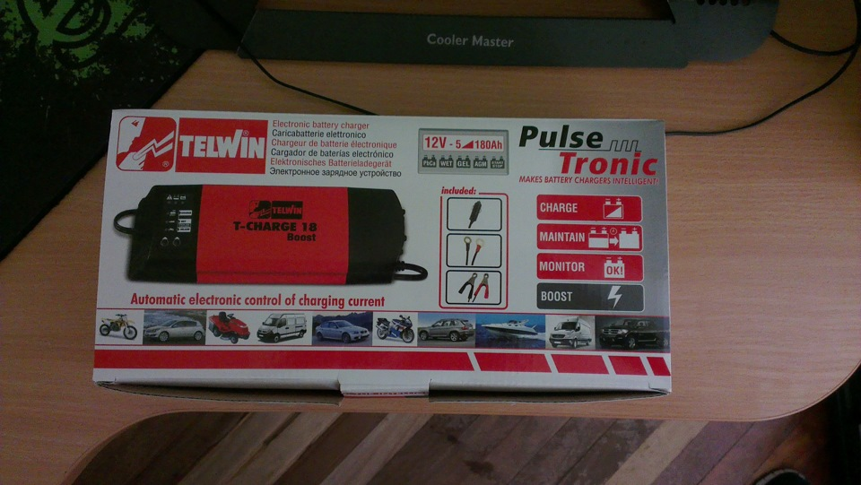 Telwin T-Charge 26 Caricabatterie 12V
