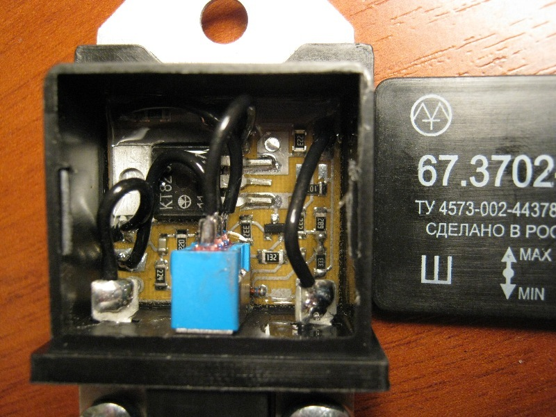 Фото №6 - трехуровневый регулятор напряжения ВАЗ 2110 своими руками