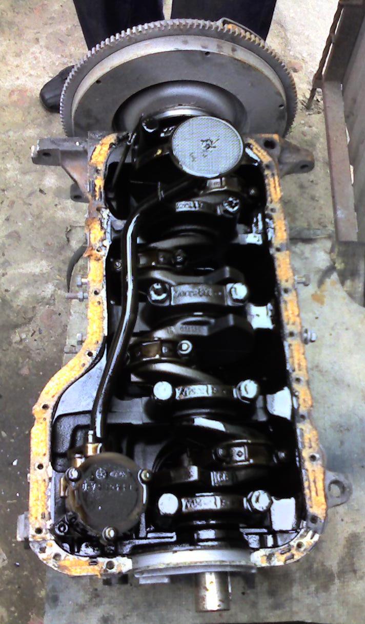 Ремонт двигателя форд сиерра 2.0 онс