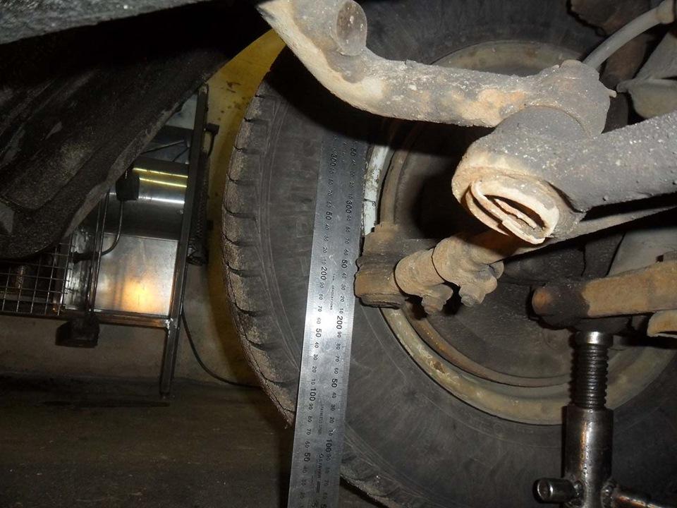 Развал схождение на газ 31105